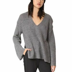 Rebecca Minkoff Remi Gray Sweater Size Medium